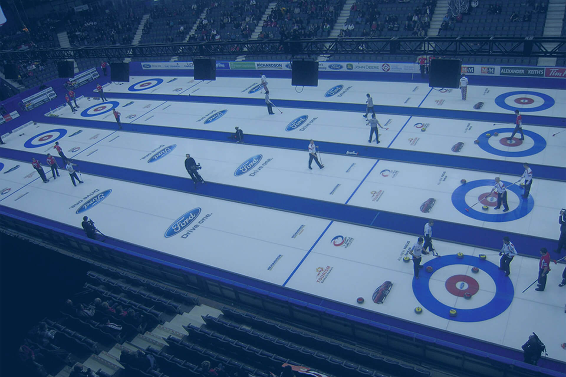 Curling Arena Toronto