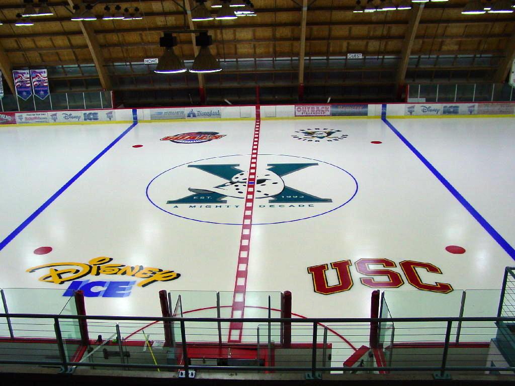 Anaheim Ducks 2003- Practice Rink