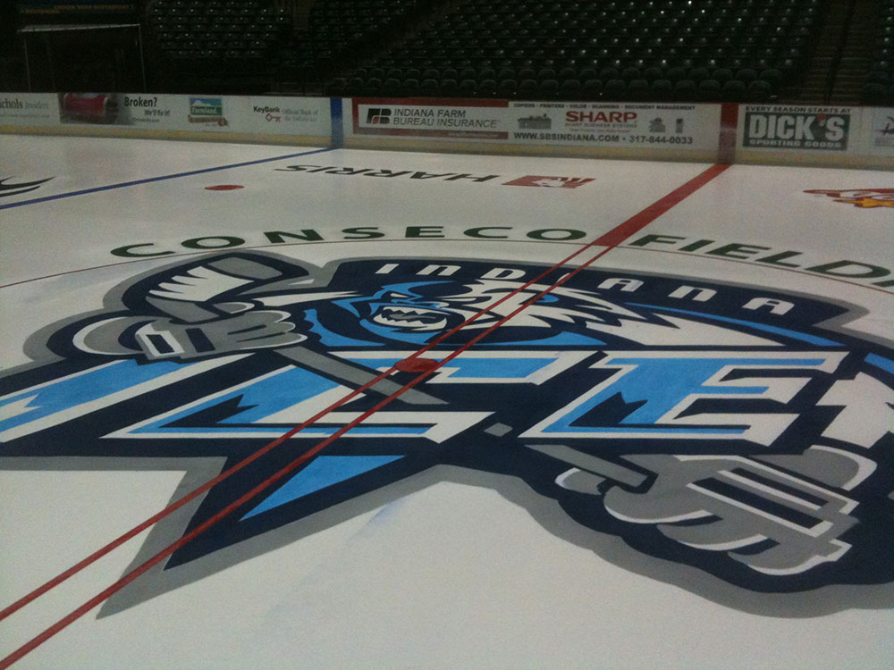 Canseco Fieldhouse - Inidana Ice