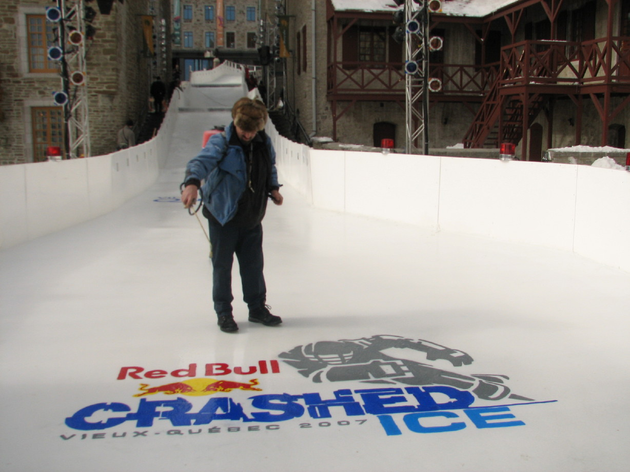 Crashed Ice by Red Bull 2007 - Quebec City, QC