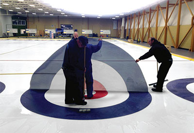 End to End Curling
