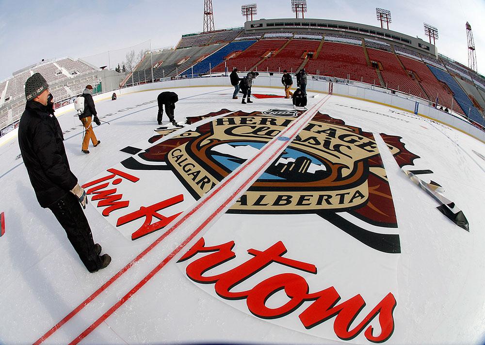NHL Heritage Classic 2011 [Calgary, Alberta]