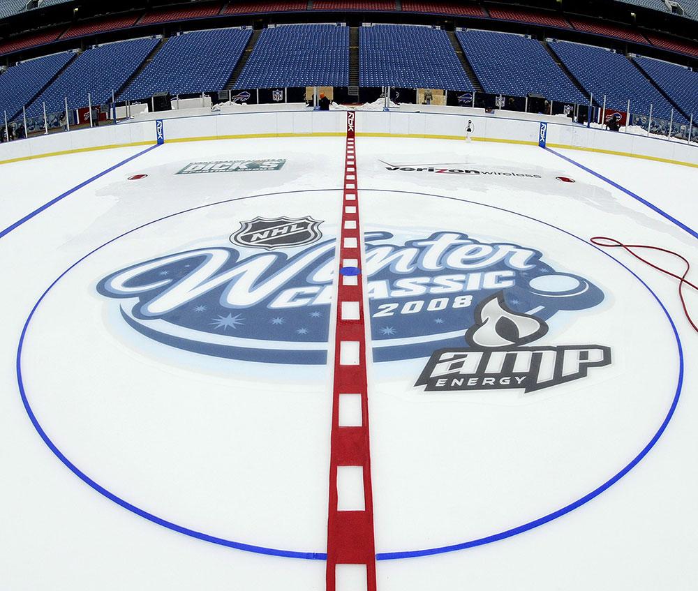 NHL Winter Classic 2008 by Amp Energy Drink [Ralph Wilson Stadium]