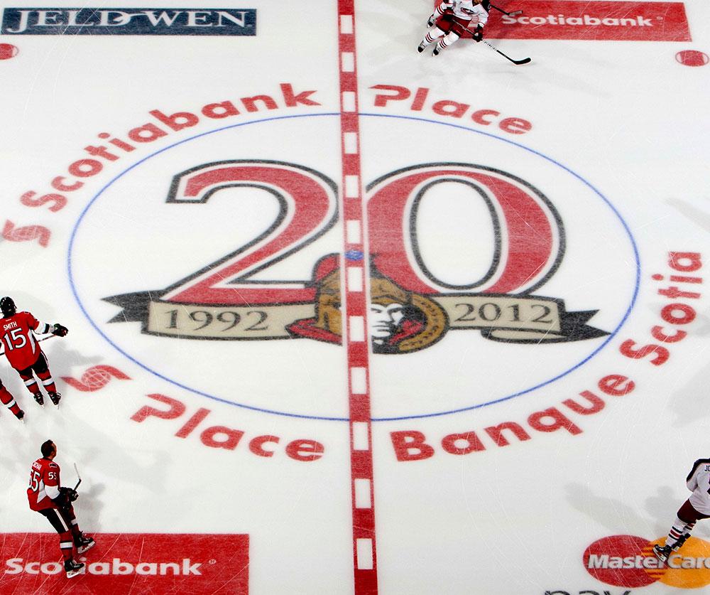 Ottawa Senators - 20 yr logo