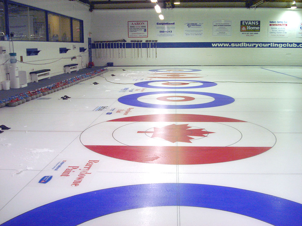 Sudbury Curling Club - Canada Curling Ring