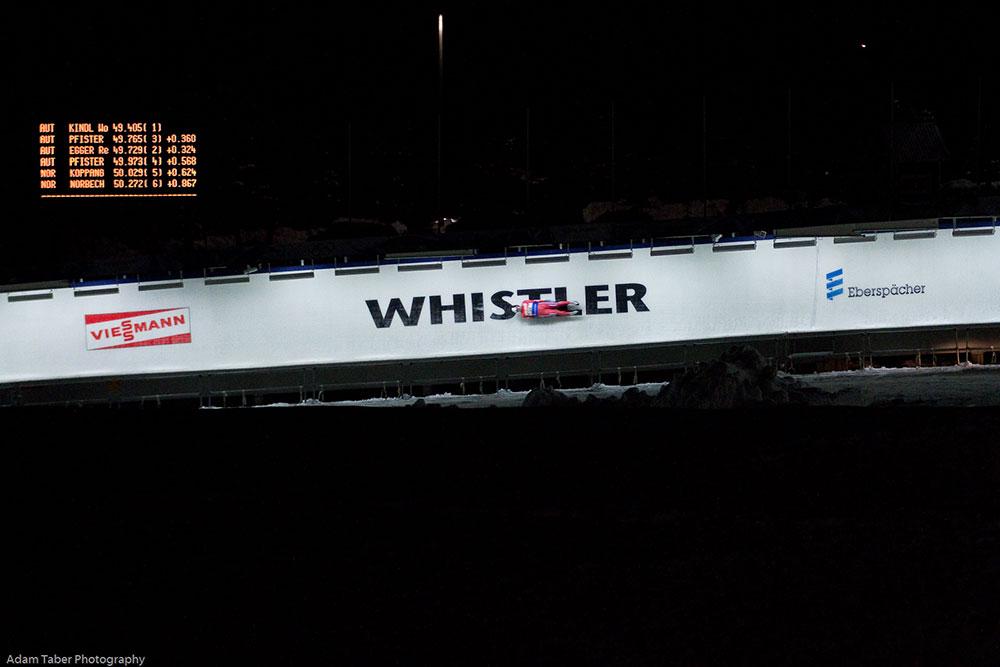 Whistler Sliding Centre 2011