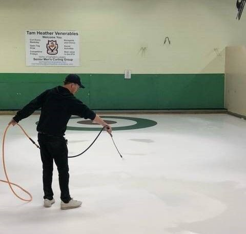 Whiting Out Curling Houses