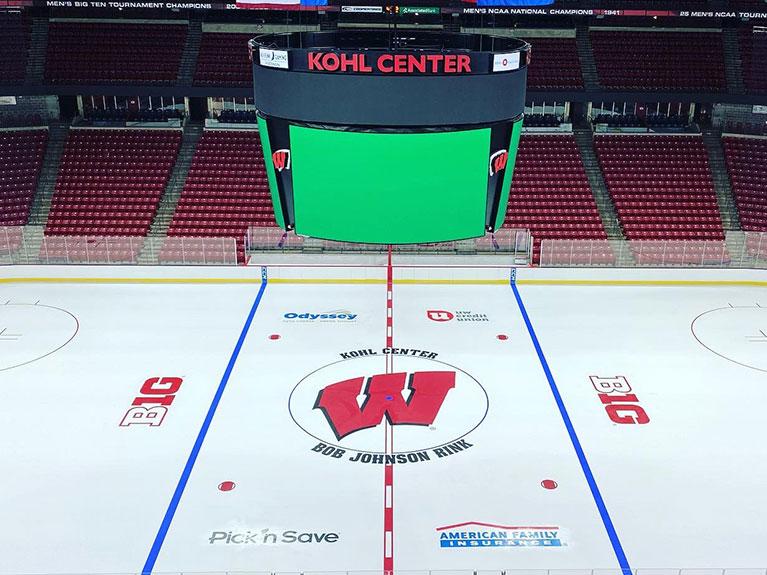 Kohl Center - Center Ice